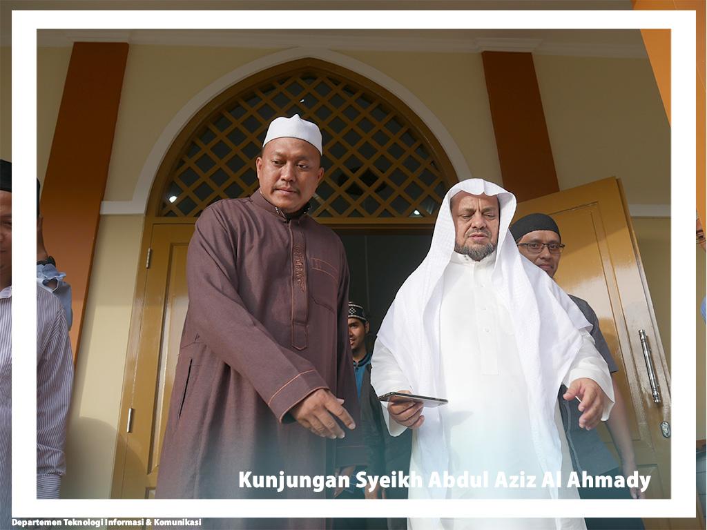 Kunjungan Syeikh Abdul Aziz Al Ahmady